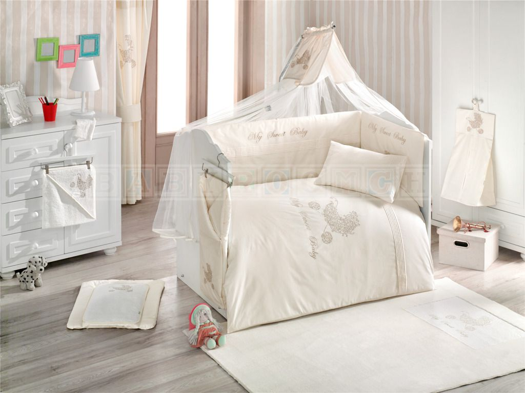 Babybettwäsche My Sweet Baby 9 Teiliges Set