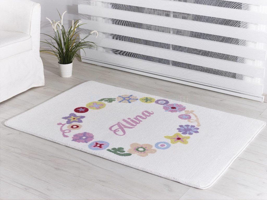 personalisierbarer baby und kinderzimmer teppich. Black Bedroom Furniture Sets. Home Design Ideas