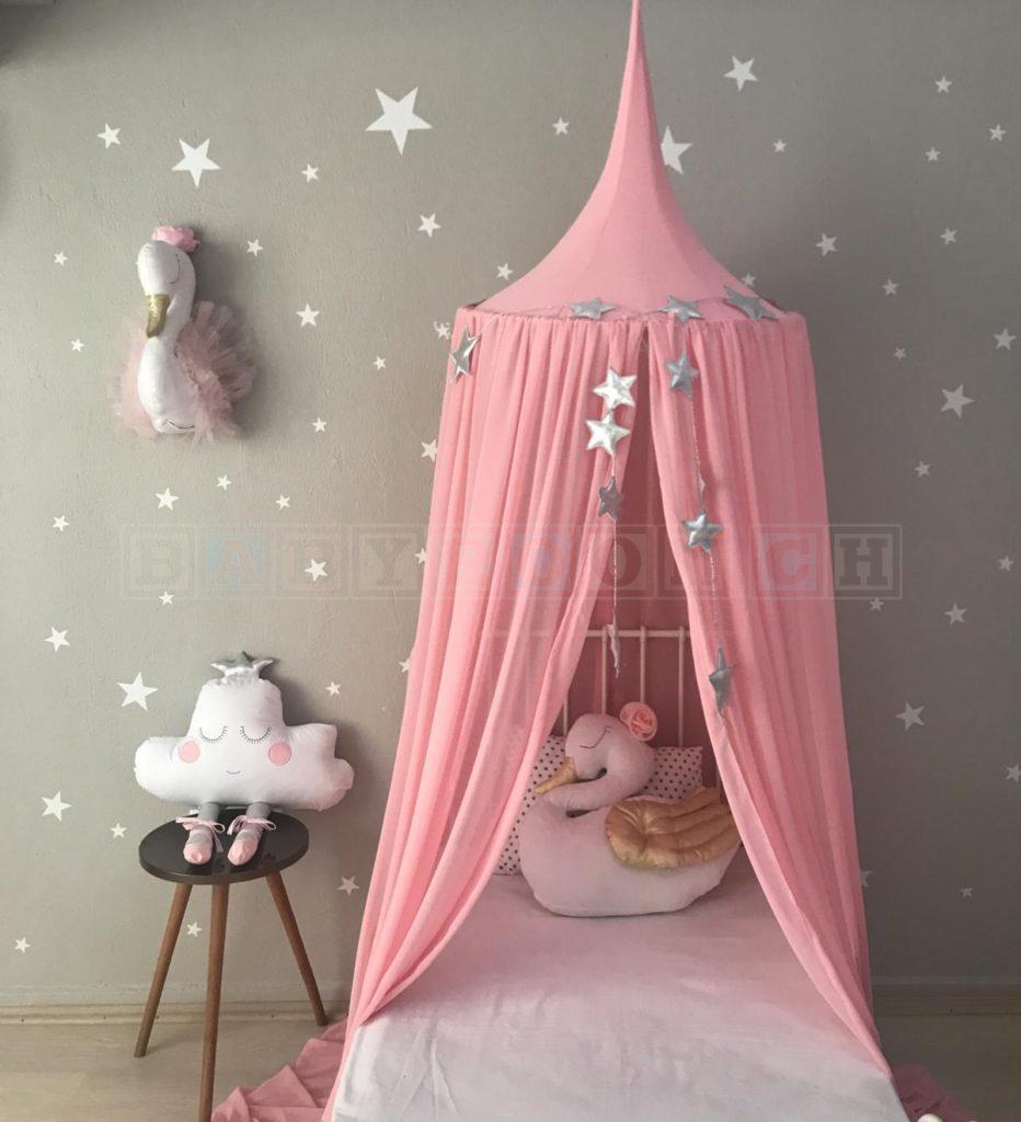 baldachin betthimmel rosa lassen sie sich verzaubern. Black Bedroom Furniture Sets. Home Design Ideas